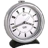 closeout silver clock